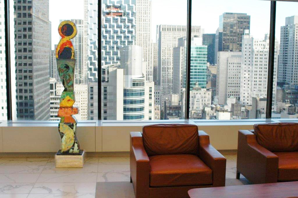 CORPORATE OFFICE Example - Grace Building Offices, NYC