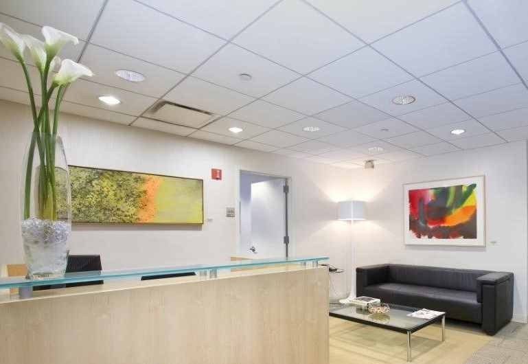 CORPORATE OFFICE Example - Rockefeller Plaza Offices, NYC