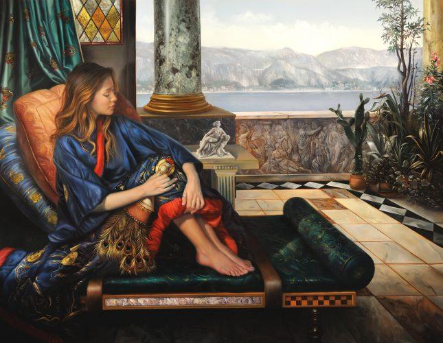 The Girl in the Blue Kimono II