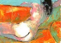Desnuda en el sofa