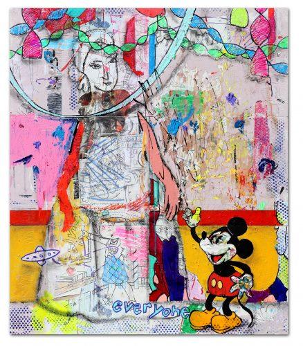Madre y Mickey