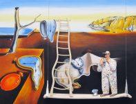 Steven Hansen, The Persistence of MemoryA Bigger Splash (Hockney)